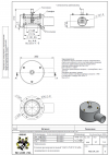 Клапан предохранительный VAD 125/0 N 50 кПа защищенного исполнения