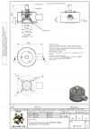 Клапан предохранительный 50/0 N T 50kPa защищенного исполнения