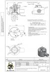 Клапан предохранительный VAD-80/2 N 50 кПа защищенного исполнения