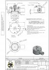 Клапан предохранительный VAD 125/2 N 80 кПа защищенного исполнения, фтоорсиликоновые прокладки, спец. фланец