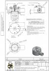 Клапан предохранительный VAD 125/2 N 50 кПа защищенного исполнения, фторсиликоновые прокладки, спец. фланец
